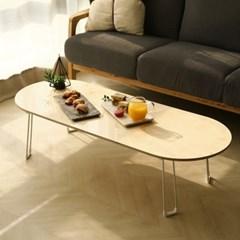 자작나무 원목 접이식 거실 소파 테이블 보드 1200