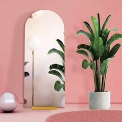 노프레임 프렌치 아치 전신 거울