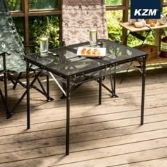 카즈미 유니온 아이언메쉬 2폴딩 테이블 K20T3U003 / 캠핑테이블