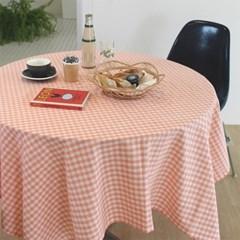 멜란지무드 체크 테이블보 식탁보(5colors)_(1991623)