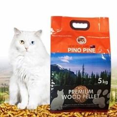 고양이 화장실모래 피노파인 우드펠렛 5kg_(1345841)