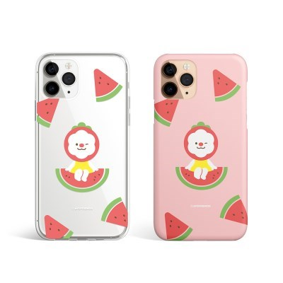 스티나와 수박보트 하드/ 젤리 2종 휴대폰 케이스