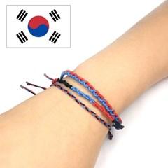 디애틱 NUDO 매듭팔찌 국기에디션 - 대한민국