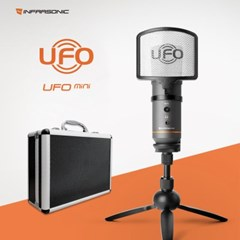 인프라소닉 UFO Mini 미니 마이크 USB 콘덴서 PC 컴퓨터 마이크
