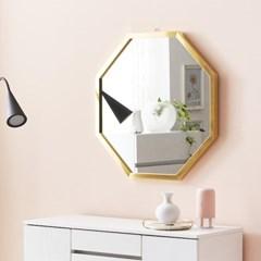채우리 프레시티지 인테리어 화장대 정팔각 거울 (중)