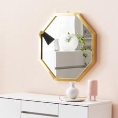 채우리 프레시티지 인테리어 화장대 정팔각 거울 (소)