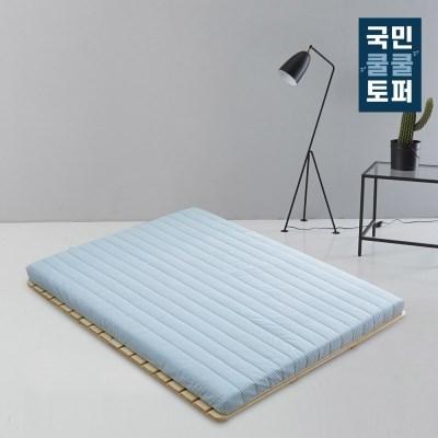국민쿨쿨토퍼 바닥 토퍼 매트리스 7cm 퀸