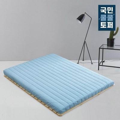 국민쿨쿨토퍼 바닥 토퍼 매트리스 7cm 슈퍼싱글