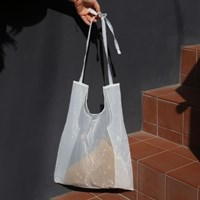 가벼운 여자가방 - 오간자 시스루백 (3색)