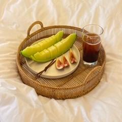 beso(베소) 라탄 바스켓 바구니 대나무 트레이