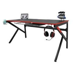 에이픽스 1인용 게이밍 컴퓨터 책상 GD001 1600L 1600x800
