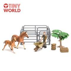 [타이니월드] 말농장1 동물농장시리즈