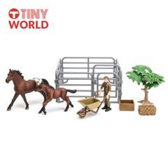 [타이니월드] 말농장2 동물농장시리즈