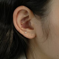 14K GOLD-FILLED EARCUFF