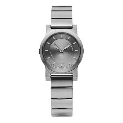 TID No.4 Silver Grey / Silver Grey 여성 메탈 28mm