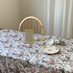 빈티지 플라워 테이블보 식탁보 3size
