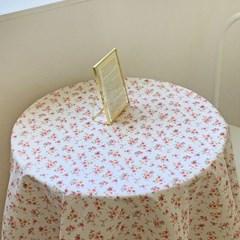 로지 플라워 테이블보 식탁보 3size