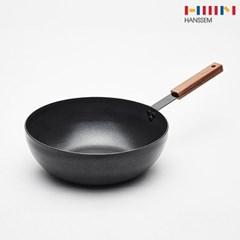 한샘 kien 블랙 심플 궁중팬 28cm