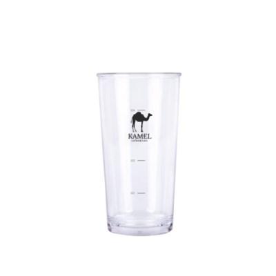 [카멜] 하이볼 플라스틱 컵 500ml (투명컵, 눈금컵,카페컵)