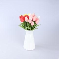 므앙 튤립 조화 장식 꽃다발 (4color)_(1610223)
