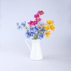 아카시아 조화 꽃다발 장식 (4color)_(1610221)