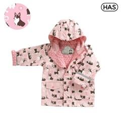 [HAS] 아동 레인코트_웰시코기 핑크