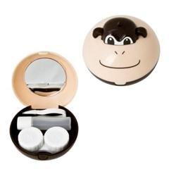 원숭이577 콘택트렌즈 케이스 풀세트 렌즈통