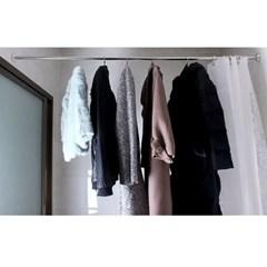 조이홈 욕실 샤워 커튼봉(125-220cm)/압축봉 행거봉