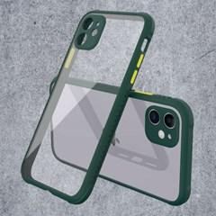 아이폰8 컬러풀 클리어 심플 커버 하드 케이스 P518_(3072468)