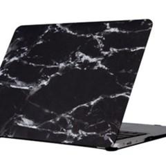 [유니크] 맥북 프로 15인치 케이스 - Marble Noir (블랙)