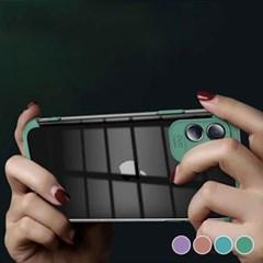 아이폰8 포인트 심플 클리어 커버 하드 케이스 P527_(3066442)