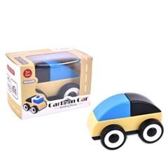 맥킨더 유아용 미니 카툰카 소형 자동차 장난감(블루)_(299750)