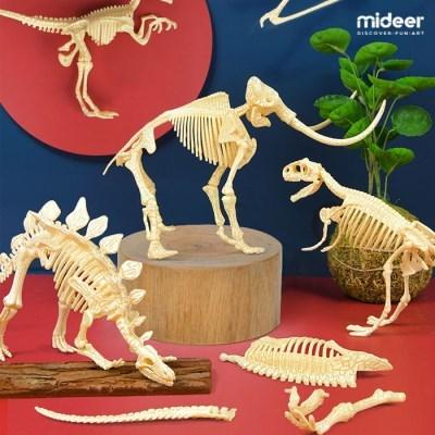 미디어 공룡뼈 퍼즐 화석조립완구 6종_(1153432)