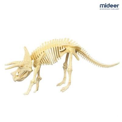 미디어 공룡뼈 퍼즐 화석조립완구 트리케라톱스_(1153431)