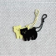 [ 키링 ] 야간동물원 밤곰 / 낮곰(슈크림곰) 2가지 색상