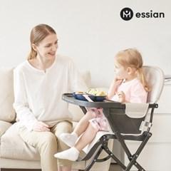 에시앙 라이트 하이체어 유아식탁의자 아기 캠핑의자 간편폴딩