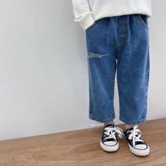 돌핀웨일 그물체크힙와이드팬츠(70~130cm)