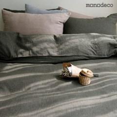 [모노데코] 마들렌 순면 이불커버세트 (2color) S/Q