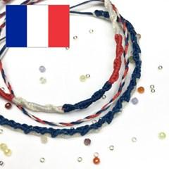 디애틱 NUDO 매듭팔찌 국기에디션 - 프랑스