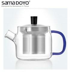 [SAMA]K1722SC 사마 티포트 주전자형 블루핸들 470ml (S_(1340086)