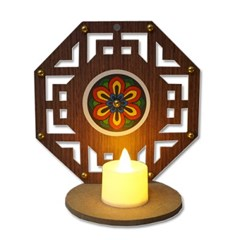전통문살 촛대(5인용)