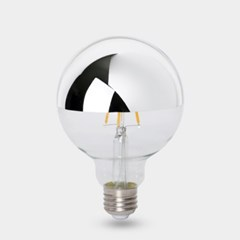 LED 에디슨전구 하프미러 G95 4W 실버_(1923585)