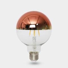 LED 에디슨전구 하프미러 G95 4W 로즈골드_(1923583)