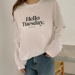 데일리 나염 루즈핏 티셔츠(2610738)_(1769585)