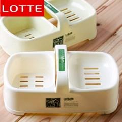 롯데 손잡이 비누곽/비누대 비누받침대 욕실용품