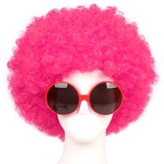 점보파마가발-핑크