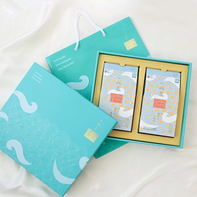 추석 설날 명절 선물세트 오티아 귤피차 선물세트