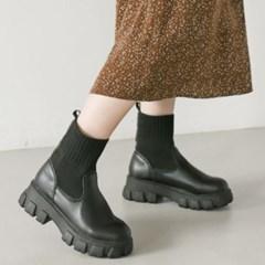 JM-Q7_1 키높이 여성 니트 삭스 부츠 신발 5cm_(2452639)
