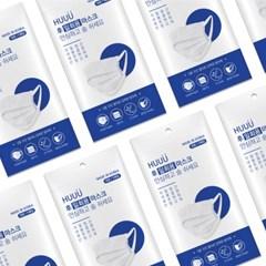 (국산/시험통과/무료배송) 3중 필터 일회용 마스크 5매입 x 10팩