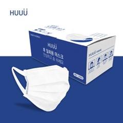(국산/시험통과/무료배송) 3중 필터 일회용 마스크 1box 30매